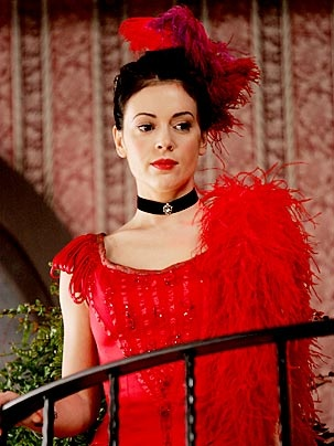 """Alyssa Milano as Phoebe Halliwell from """"Charmed"""""""