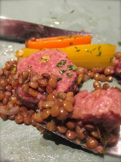 Cotechino Sausage with Lentils