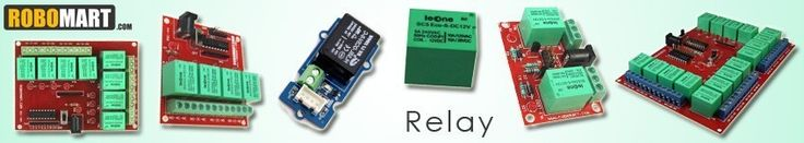 you can buy online Relay, buy relay module online india, types of relay, electrical relay, Relay buy, Relay buy online, Relay buy India, Grove Relay, 12v relay price, relay 6v, 12v relay module interface board for arduino, 12v relay board, 12v relay board arduino available at very affordable price in India on Robomart.