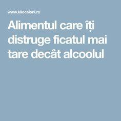 Alimentul care îți distruge ficatul mai tare decât alcoolul