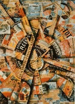 Art contemporani, Manifiesto intervencionista de Carrá, Futurismo
