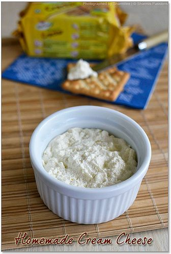 Homemade Cream Cheese Recipe with just 3 ingredients! by vsharmilee, via Flickr