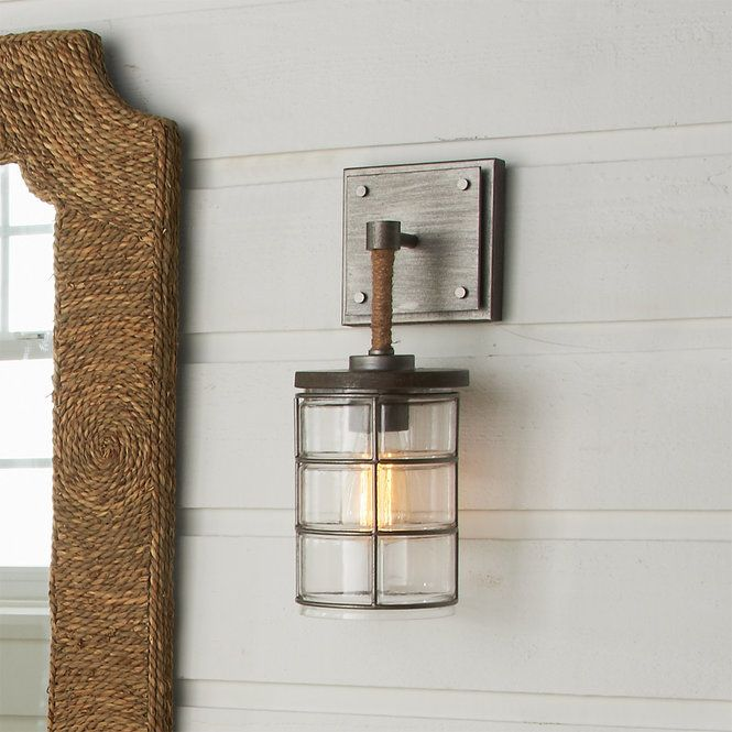 Urban Coastal Sconce Rustic Wall Lighting Sconces Wall Sconces