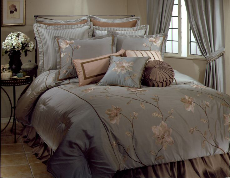 Romance Luxury Bedding Ensemble | ... and pillows, Veratex luxury bedding, Master Bedroom, Free shipping