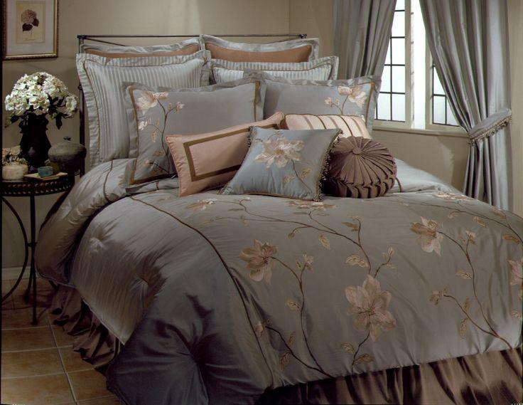 romance luxury bedding ensemble and pillows veratex luxury bedding master