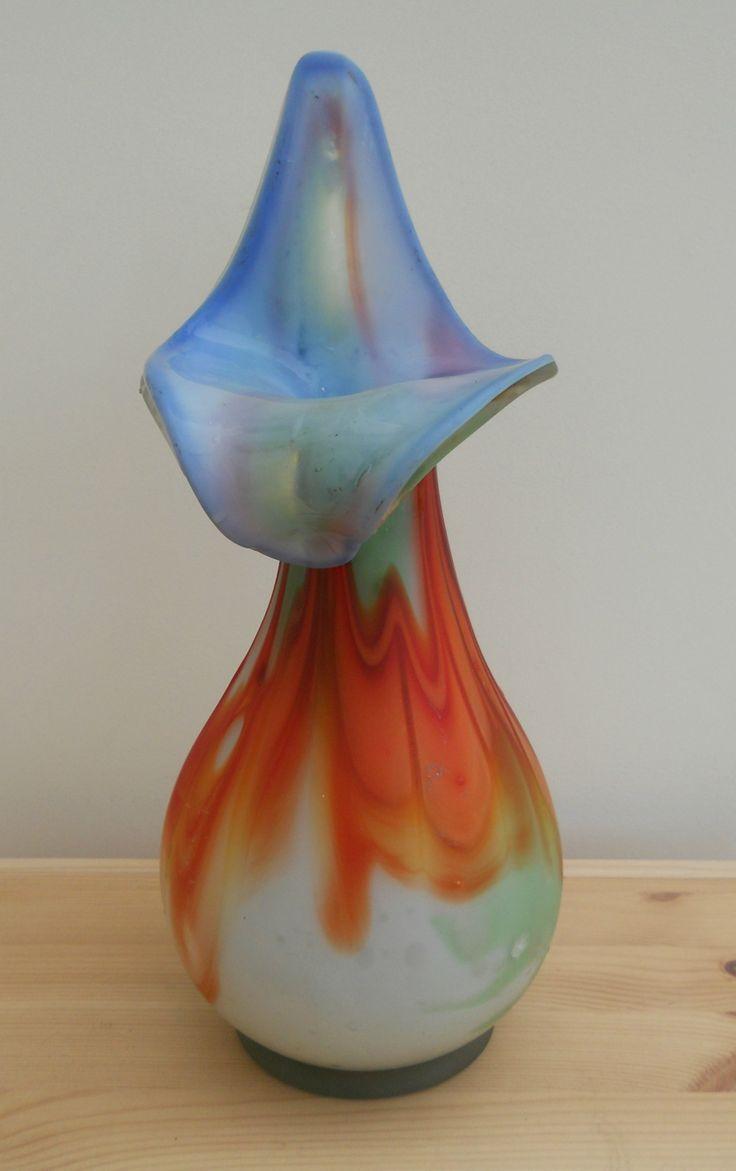 31 best vases mainly vintage images on pinterest jars my ebay vintage lily shaped art glass vase sold on my ebay site lubbydot1 reviewsmspy