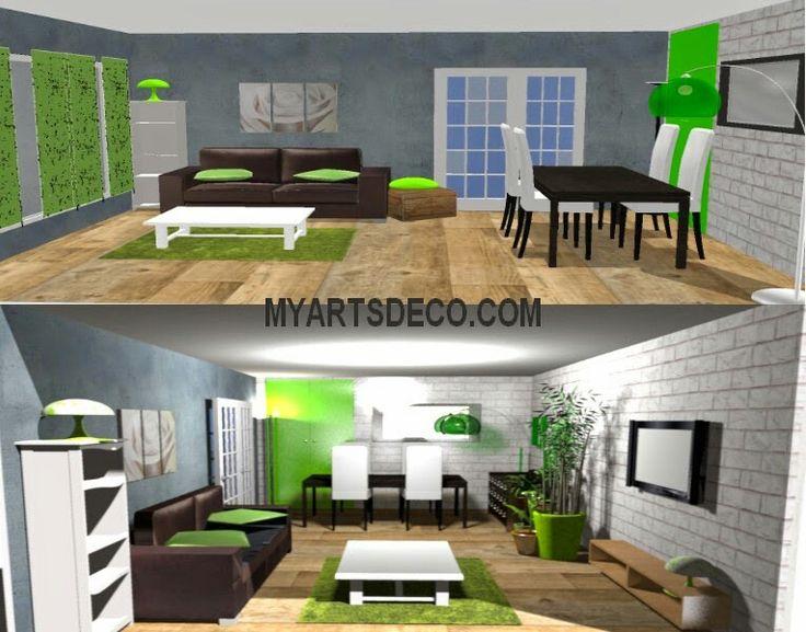 Inspiration séjour vert