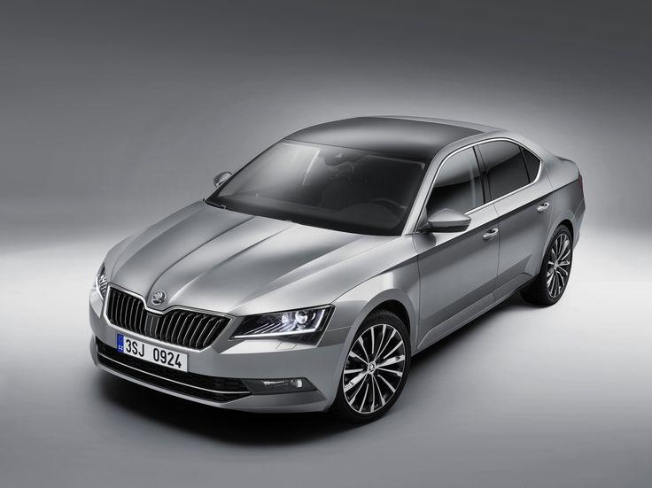 The new ŠKODA top model is also more distinctive thanks to its larger wheels #newskodasuperb #superb #skoda