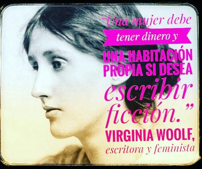 Frase Del Libro Un Cuarto Propio De Virginia Woolf