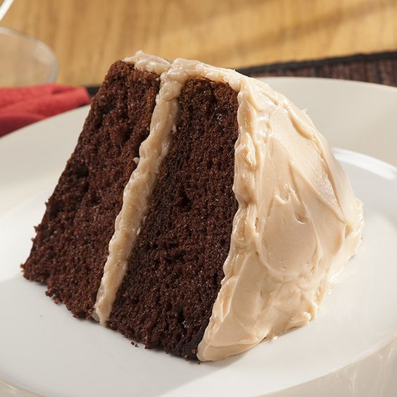 Double Mocha Cappuccino Chocolate Cake | Hills Bros. Cappuccino | Crafted Without Compromise™