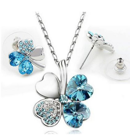 Lucky clovers necklace  $6.70 free shipping You save 32% off the regular price of $10.00
