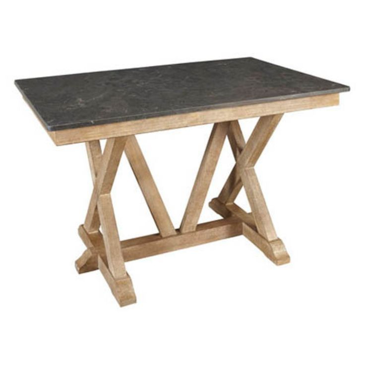 A-America West Valley Rectangular Bluestone Counter Height Table - AAME234