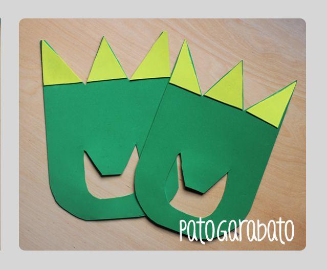 Patas Fiesta Dinosaurios