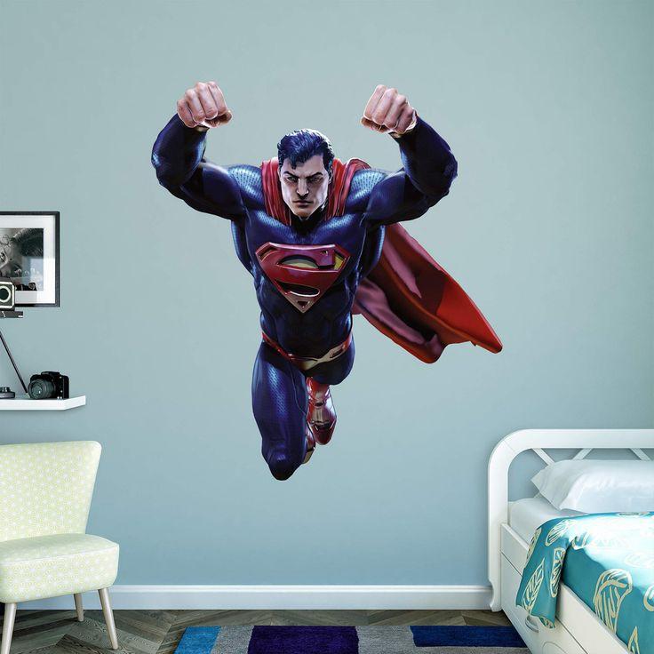 Fathead Superman DC Infinite Crisis Wall Decal - 97-97087