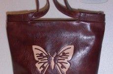 Выкройка сумки с бабочкой или хозяйственные сумки тоже могут вдохновлять…