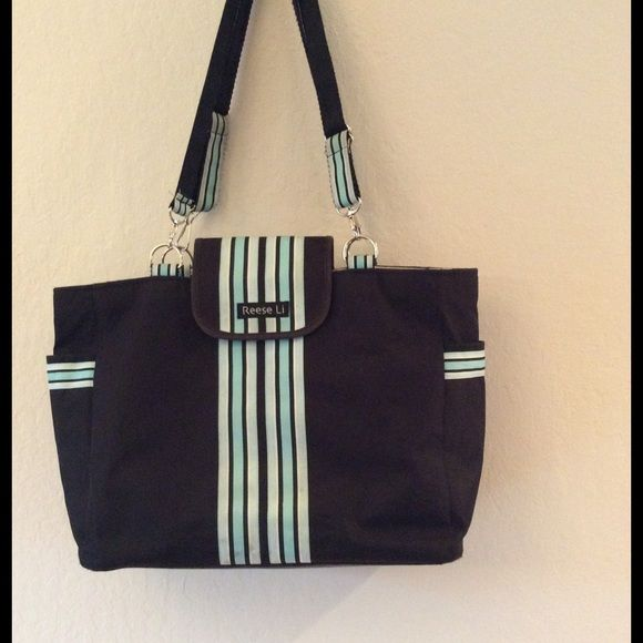 Reese Li Diaper Bag Cute diaper bag, some staining in the interior but it is clean. Reese Li Bags Baby Bags