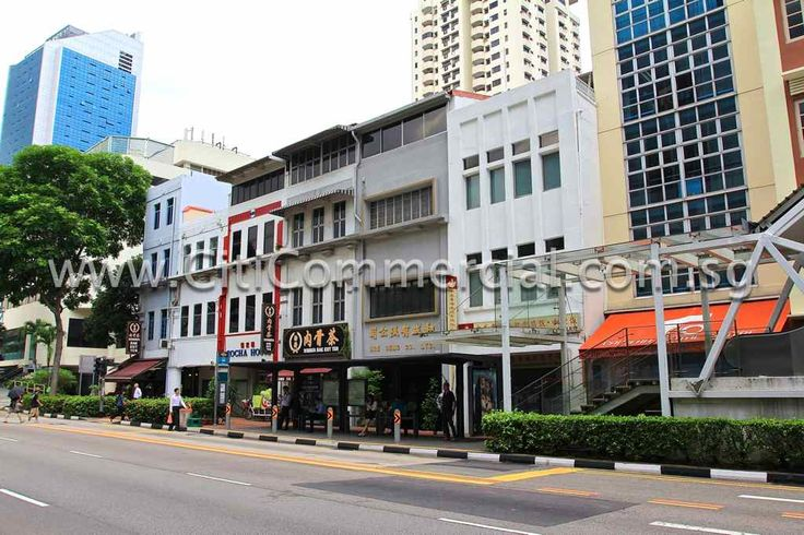 New Bridge Road Shophouses consist of shophouses and boutique-sized buildings along New Bridge Road.