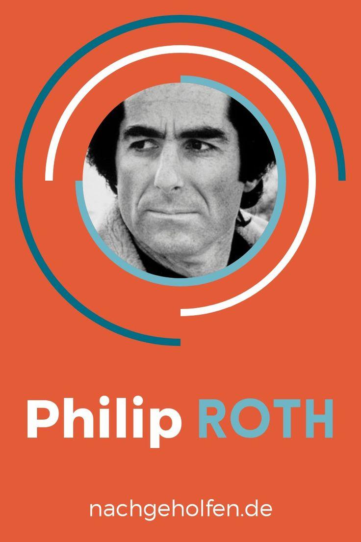 Englisch-Unterricht, Schule, lernen, bessere Noten, Nachhilfe, Lektüre, Autoren, Philip Roth