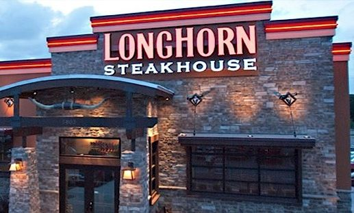 Love❤Longhorn Steakhouse! Not jus cuz it's named after the Best College Football team, but the Food is Awesome...better than Outback, Mate
