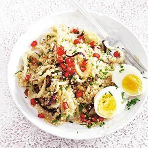 Recept - Quinoa met venkel en granaatappelpitjes - Allerhande