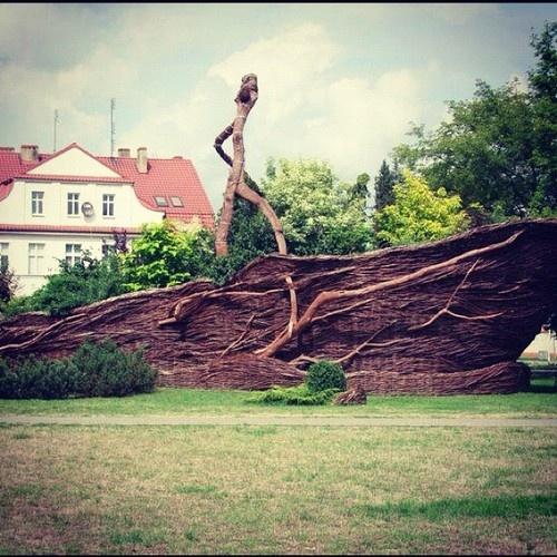 Nowy Tomyśl - Największy wiklinowy koszyk w Polsce #Wielkopolska #Polska #Poland  (Taken with Instagram)