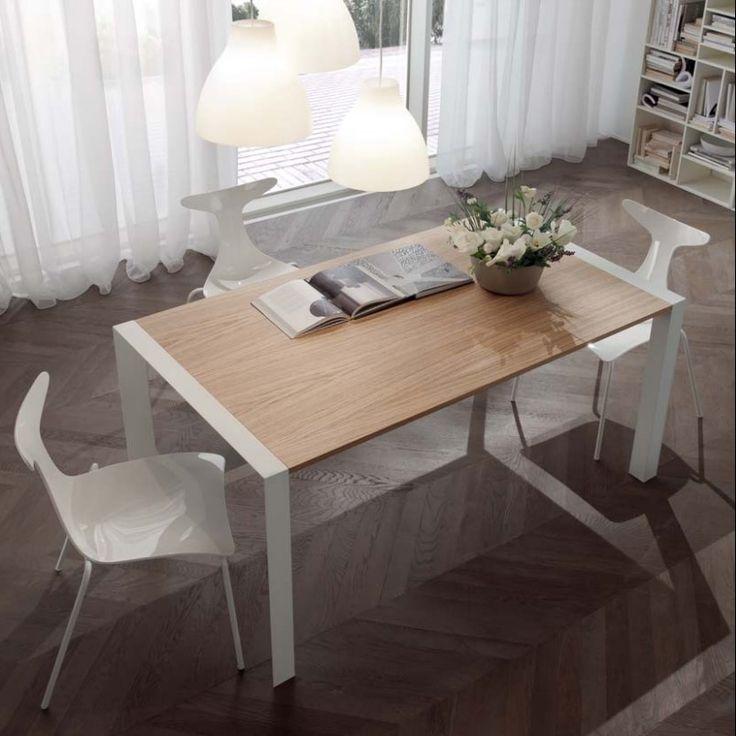 Tavolo moderno allungabile Domino di Ciacci Kreaty - ARREDACLICK