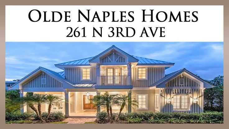 Olde Naples Homes For Sale: http://oldnaplesluxuryproperties.com  This stunning new home is seven houses from the beach on a charming street lined with mature mahogany trees in Olde Naples. Winner of the 2013 SAND DOLLAR AWARD for INTERIOR DESIGN, the 5 bedroom en suite home is being offered furnished.