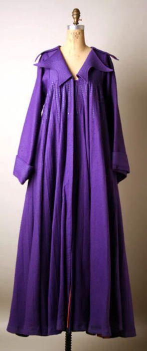 Zandra Rhodes coat ca. 1968-1969