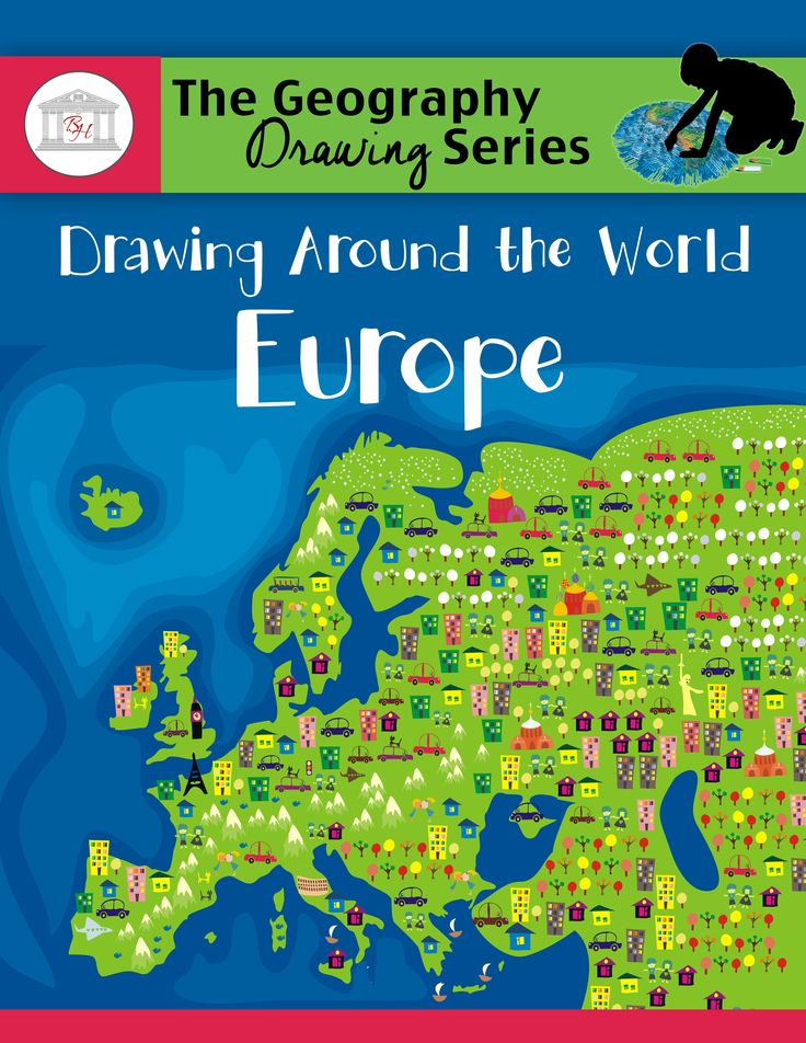 Drawing Around the World: Europe, the first book in The Geography Drawing Series, outlines a simple, fast, and easy approach to teach students to memorize the countries of Europe.With Drawing Around the World: Europe, students, in only minutes per day, engage in fun geography lessons that teach them to draw the countries of Europe and learn interesting facts about each country as they complete the country fact table.Add Drawing Around the World: Europe to your school day and teach your ...
