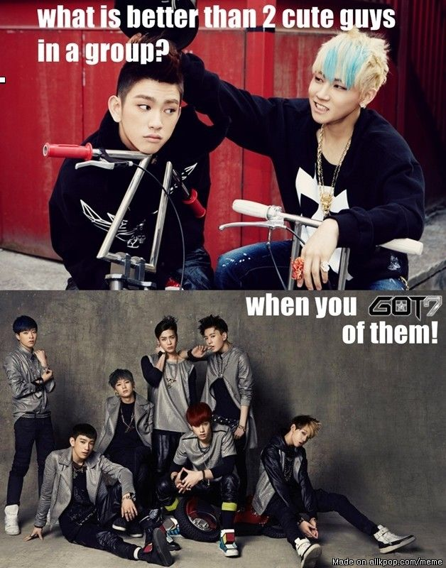 """""""When You got 7 Of them"""" - Ahh No Haha But Love The New Group Lol"""