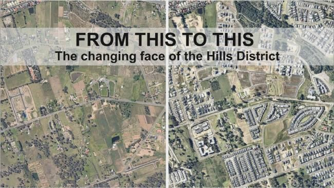 Timelapse shows transformation of Kellyville's last rural area | DailyTelegraph