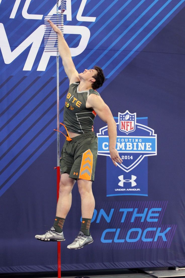 images about for photo essay mondays studs notre dame fighting irish tight end troy niklas does the vertical jump during the 2014 nfl combine at lucas oil stadium brian spurlock usa today sports