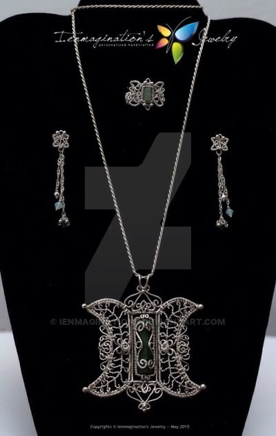 Indonesian Heritage - Pinto Aceh Jewelry Set by ienmaginations