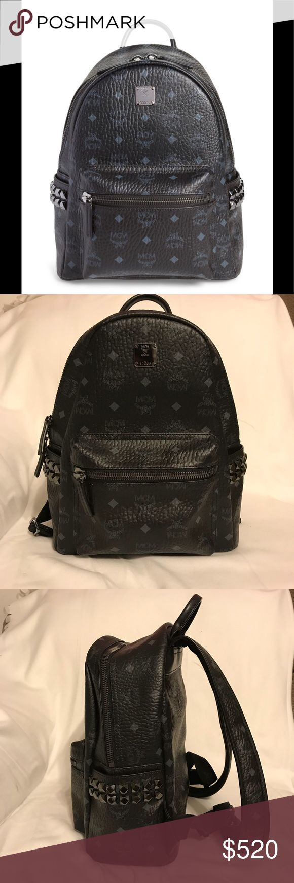 MCM small backpack Mint condition. MCM start stud side backpack. Use a handful of times. Perfect for every day or a day out at a theme park. Price negotiable. Taking offer thru offer button. No trades. MCM Bags Backpacks