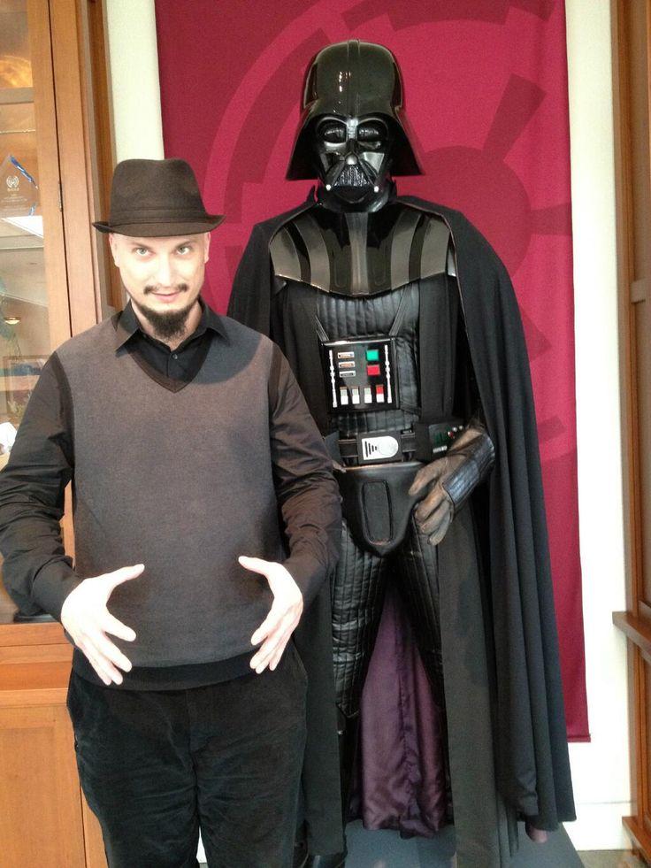 Stanton LaVey & Darth Vader