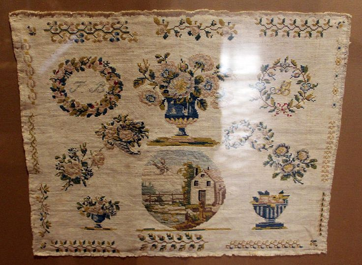 A 19th Century FRENCH Sampler