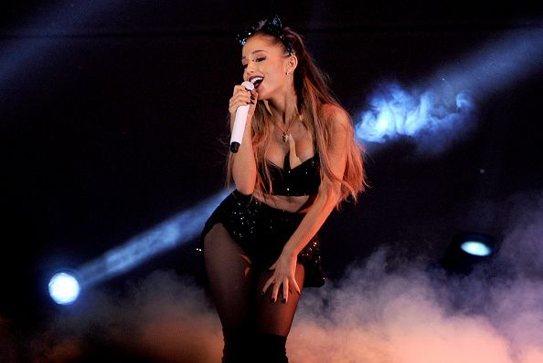 Ariana Grande performs onstage during We Can Survive 2014 at the Hollywood Bowl on October 24, 2014 in Los Angeles, California