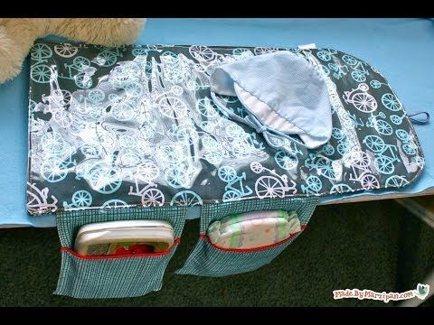 How to sew a baby changing mat. Great baby gift. Utube