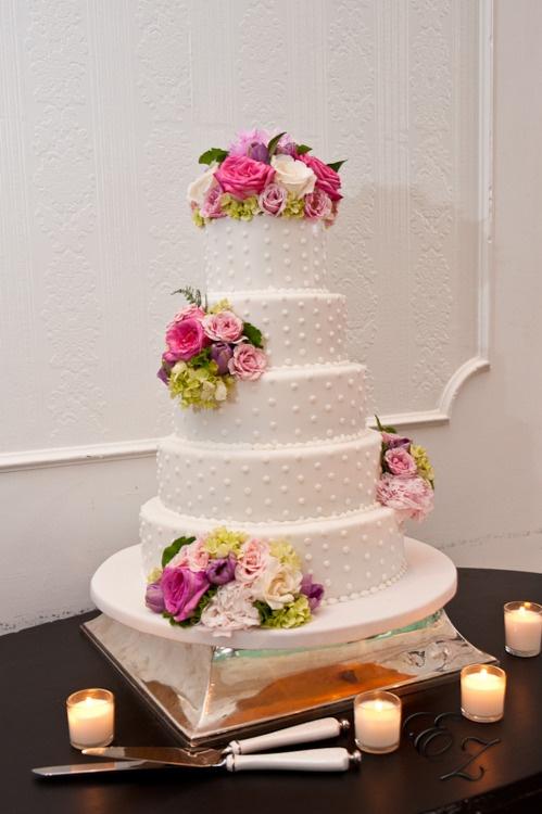 Wedding cake from a Congress Hall Wedding Reception. Congress Hall, Cape May, NJ. www.congresshall.com
