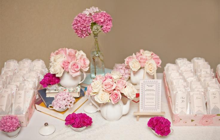 wedding tea favors