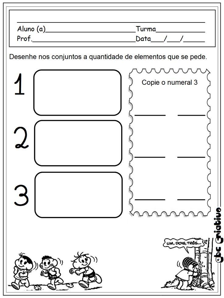 ATIVIDADES DE EDUCAÇÃO INFANTIL  E MUSICALIZAÇÃO INFANTIL: Matemática - educação infantil