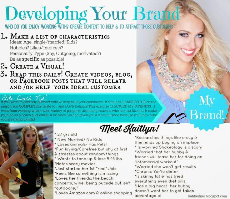 Kati Heifner: Developing your Brand: Beachbody Coach Training
