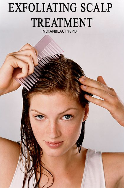 DIY exfolaiting-scalp-treatment to get rid of product build up and make your hair soft and shiny..