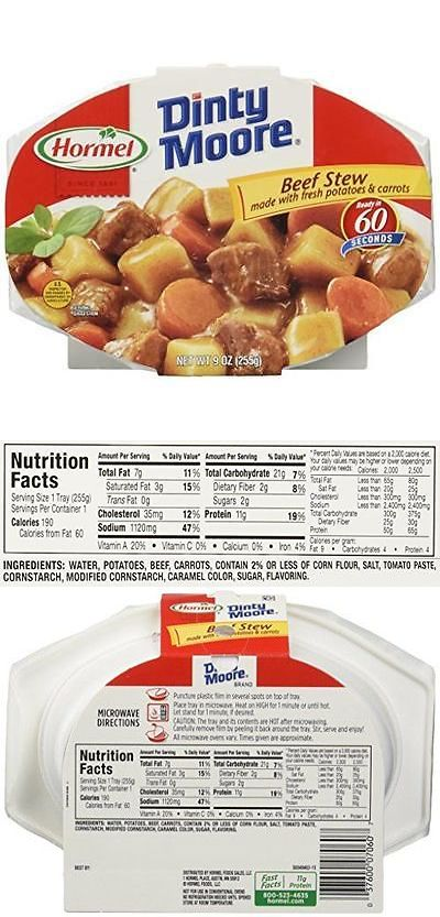 Soups and Stews 43399: Dinty Moore Beef Stew, 9-Ounce Packages (Pack Of 6) New -> BUY IT NOW ONLY: $33.29 on eBay!