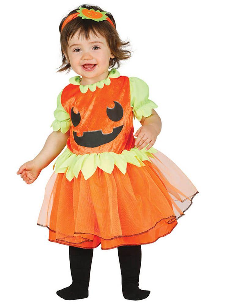 Vestido de calabaza para bebé   Comprar online