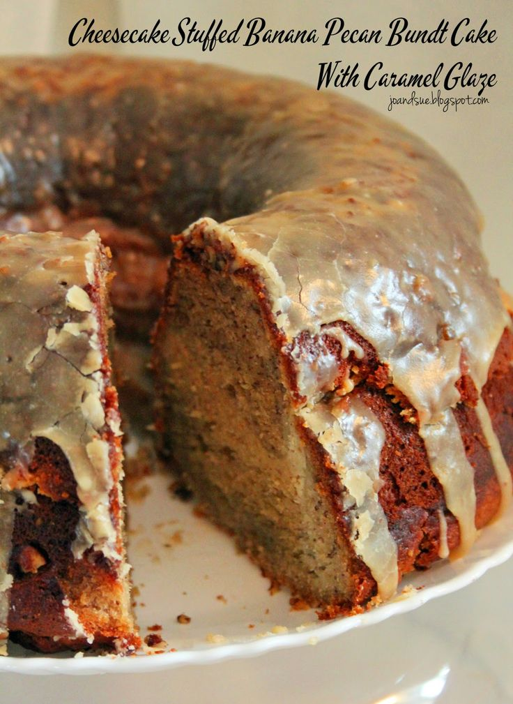 Caramel Nut Glaze For Apple Bunt Cake