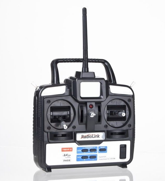64.99$  Watch now  - RadioLink T6EHP-E 2.4G 6Ch 6 channel RC Controller Transmitter and Receiver For FUTABA 6EX TREX T-REX 450 500