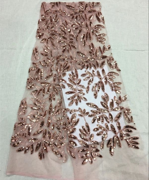 dress fabric Embroidered /& Beaded French Lace /'Maritimes/' per metre