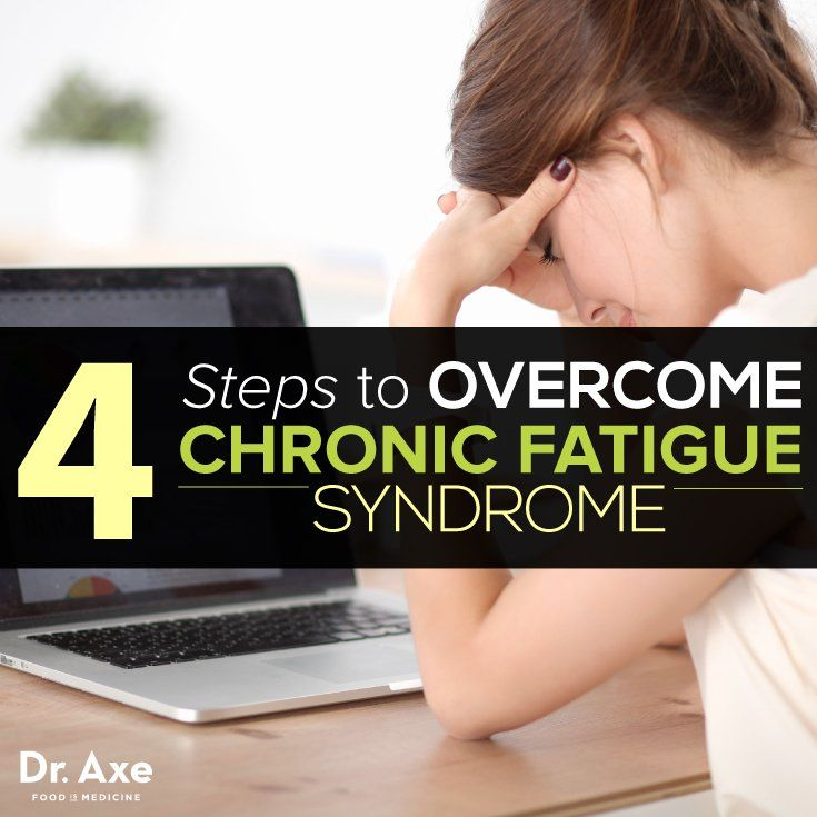 4 steps to overcome chronic fatigue syndrome