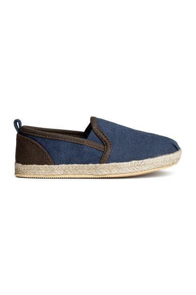 Stoffen bootschoenen | H&M